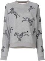 Zoe Karssen zebra sweatshirt