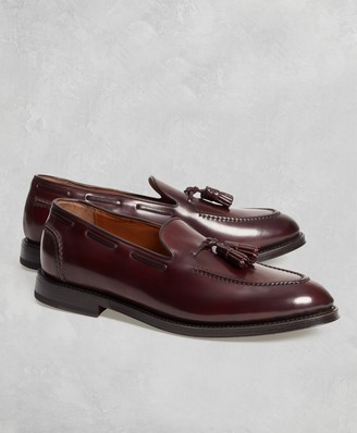 Brooks Brothers Golden Fleece Cordovan Tassel Loafers