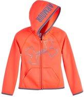 Under Armour Girls' Toddler UA Glitter Jumbo Big Logo Hoodie