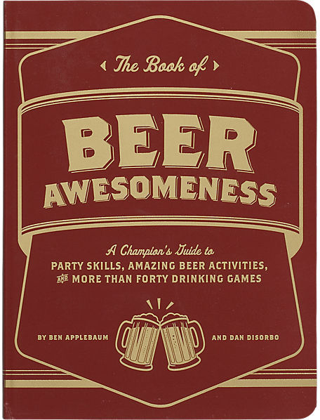"""CB2 """"The Book Of Beer Awesomeness"""""""