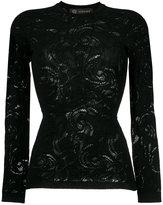 Versace Baroque lace top