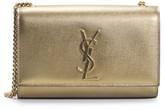 Saint Laurent Small Kate Metallic Leather Shoulder Bag