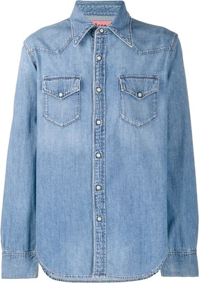 Acne Studios easy fit denim shirt