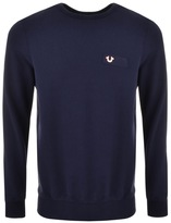 True Religion Crew Neck Sweatshirt Navy