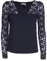 See by Chloe Lace Sleeve Top