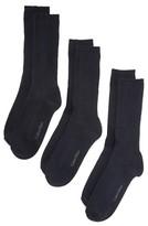 Calvin Klein Underwear 3 Pack Casual Knit Crew Socks