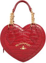 Vivienne Westwood Dorset Heart Embossed Faux Leather Bag