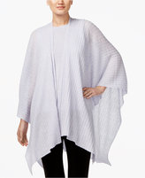 Eileen Fisher Asymmetrical Serape Poncho