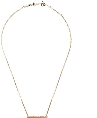 Chopard 18kt yellow gold Ice Cube Pure diamond necklace