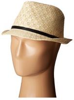 Calvin Klein Diamond Weave Fedora Fedora Hats