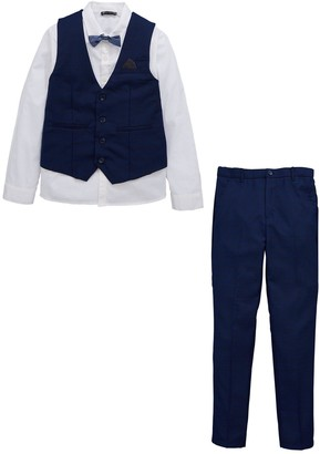 Very Occasion Four Piece Suit Set - Navy