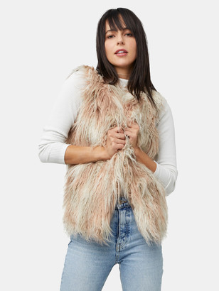 As By Df Elisabetta Shag Faux-Fur Vest