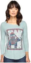 Lucky Brand Elephant Ride Tee Women's T Shirt