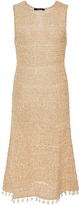 Derek Lam Cotton Knit Dress with Tasseled Hem