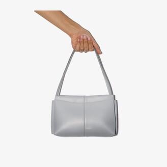 Wandler grey Carly mini leather shoulder bag