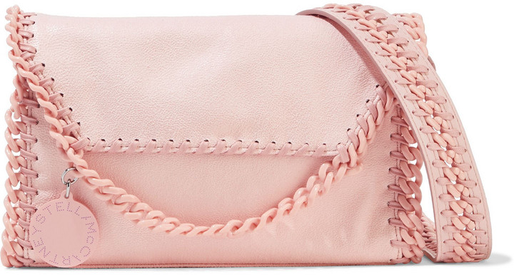 Stella McCartney Falabella Candy Mini Faux Brushed-leather Shoulder Bag