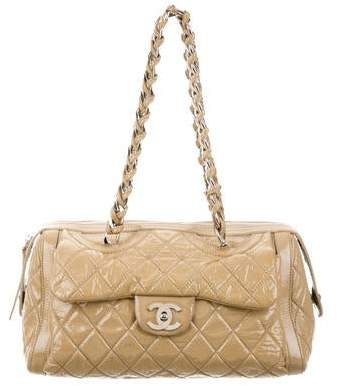 Chanel Quilted Day Glo Bag