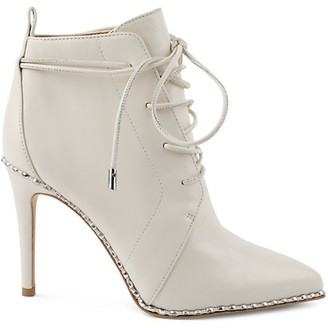 BCBGeneration Lace-Up Booties