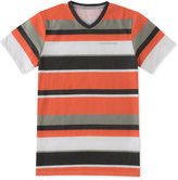 Calvin Klein Striped V-Neck T-Shirt, Toddler & Little Boys (2T-7)