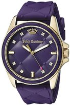 Juicy Couture Women's 1901316 Malibu Analog Display Quartz Purple Watch