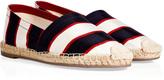 Valentino Cotton Striped Espadrilles