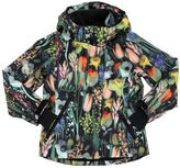 Molo Waterproof Floral Nylon Ski Jacket