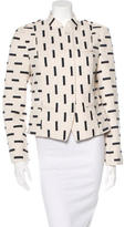 Tory Burch Tweed Embroidered Jacket
