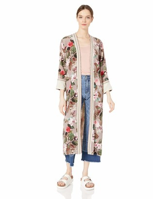 Johnny Was 3J Workshop by Women's Full Length Kimono Jacket
