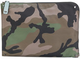 Valentino Garavani Valentino camouflage document case - men - Acrylic/Polyamide - One Size