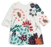Catimini Baby's & Little Girl's Printed Snap Cotton Dress