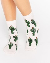 Asos Holidays Cactus Ankle Socks