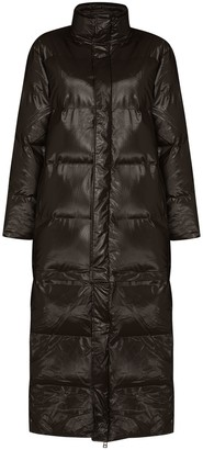 Rains Detachable Hem Padded Coat