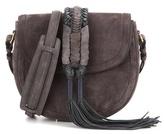 Altuzarra Ghianda Knot Saddle suede shoulder bag