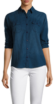 Joe's Jeans Cotton Drop Shoulder Denim Shirt