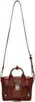 3.1 Phillip Lim Burgundy Patent Leather Mini Pashli Satchel