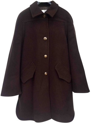 Valentino Brown Wool Coat for Women Vintage