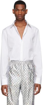 Gucci White Flower Shirt