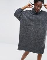 Monki Oversized Turtleneck Sweater Dress