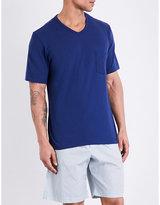Hanro Cotton V-neck T-shirt
