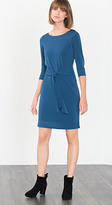 Esprit OUTLET trench dress w tie waist detail