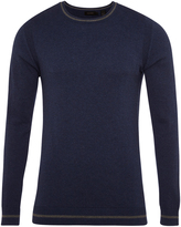 Oxford Roman Crew Neck Pullover Nvy X