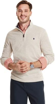 Izod Men's Premium Essentials Classic-Fit Sweater Fleece Quarter-Zip Pullover