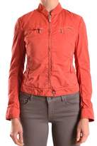 Brema Women's Orange Cotton Outerwear Jacket.