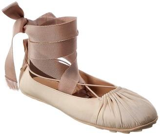 Christian Dior Etoile Ankle Wrap Ballet Flat