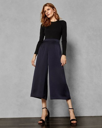 Ted Baker Knitted Colour Block Jumpsuit