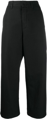 DEPARTMENT 5 Cropped Flared Trousers