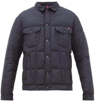 Moncler Dubas Quilted Down Jacket - Mens - Navy