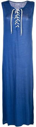 Majestic Filatures sleeveless shift dress