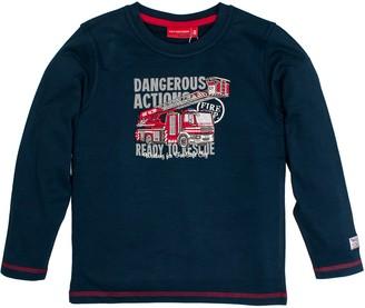Salt&Pepper Salt and Pepper Boy's Longsleeve Fire Dangerous T-Shirt
