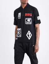 Kokon To Zai Patch-detailed cotton-jersey T-shirt